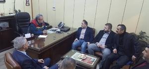 Milletvekili Demir, SFC'yi ziyaret etti