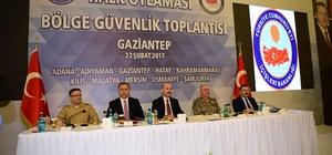 Vali Toprak, Halkoylaması Bölge Güvenlik Toplantısı'na katıldı