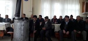 Araç'a bağlı Tatlıca Köyünde halk toplantısı düzenlendi