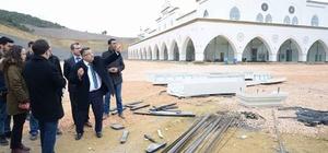 Başkan Yağcı yeni projeleri yerinde inceledi