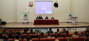 Eyyübiye Belediyesinden Yeni Anayasa ve Cumhurbaşkanlığı Sitemi  paneli
