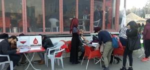 Üniversitede kan bağışı kampanyası düzenlendi