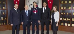 GKV'li Hüseyin Eren Şahin'in  Kick Boks Başarısı