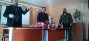 1 Aralık Ortaokulunda gazetecilik mesleği tanıtıldı