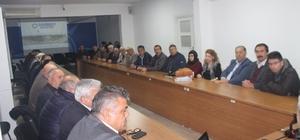 Tahmazoğlu siyaset akademisinde konuştu
