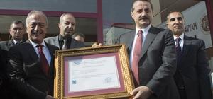 Gıda Tarım ve Hayvancılık Bakanı Faruk Çelik, Hayvan Hastanesi'nin Açılışını Yaptı