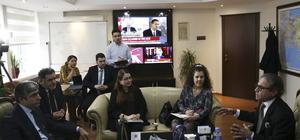 Brezilya'nın Ankara Büyükelçisinden AA'ya ziyaret