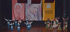 Devlet Halk Dansları Topluluğu Malatya'da