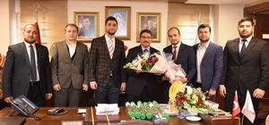 Başkan Çelik Genç MÜSİAD'ı ağırladı
