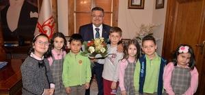 Çocukların Başkan Yağcı sevgisi