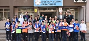 Çocukların spor aşkına Bornova Beckerspor desteği