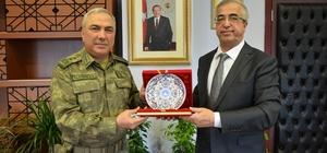 Tümgeneral Alparslan'dan Rektör Şengörür'e ziyaret
