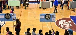 Kepez'de dart turnuvası