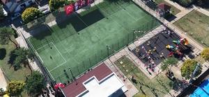 Kepez'den 6 semt spor sahası