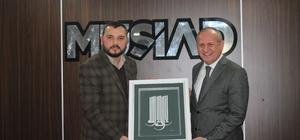 Başkan Keleş'ten MÜSİAD'a ziyaret