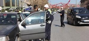 Gaziantep'te trafik uygulaması