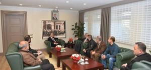 Esnaftan Vali Demirtaş'a ziyaret