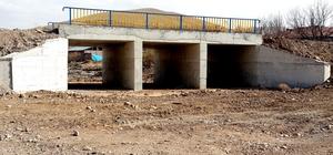 Büyükşehir 2016'da 23 köprü, 15 menfez yaptı