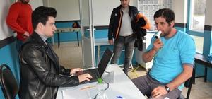İzmit'te temizlik personeline sağlık taraması