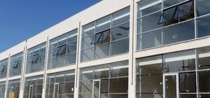 Büyükşehir'in 11 milyon TL'lik Yeni Makine ve İkmal Hizmet Binası inşaatını tamamladı