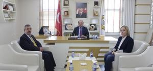 Emniyet müdürü Akay'dan Safranbolu TSO'ya iadeyi ziyaret