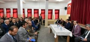 Vali Aktaş, Ovacık'ta halk günü toplantısı yaptı