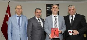 Türk Yerel Hizmet-Sen'den Başkan Şirin'e ziyaret