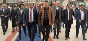 Başkan Toltar, Ağrı Valisi Işın'ı ağırladı