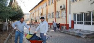 Şehitkamilde okullarda temizlik seferberliği
