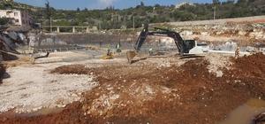 Limonlu-Kumkuyu atıksu arıtma tesisi inşaat çalışmaları devam ediyor