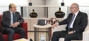 Bakan Yardımcısından MHP'li Başkana ziyaret