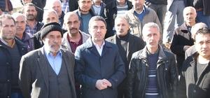 CHP Malatya İl Başkanı Kiraz, eski Köy Garajının girişinin toprakla kapatılmasına tepki gösterdi