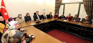 Başkan Palancıoğlu, Kadın Kültür Merkezini Talaslı kadınlara tanıttı