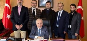 ANESİAD Yönetim Kurulu Vali Süleyman Kamçı'yı ziyaret etti