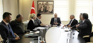 OSB yönetimi toplandı
