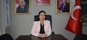 AK Parti Tepebaşı İlçe Kadın Kolları Başkanı Neşe Karademir;
