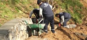 Kartal'ın en büyük parkının yapımı hızla devam ediyor