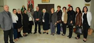 Başkan Toker'den, Başkan Acar'a ziyaret