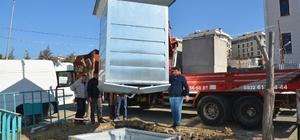 Yeraltı konteynerleri hizmete girmek için gün sayıyor