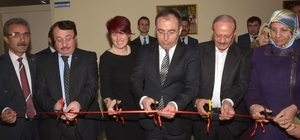 Çatak'ta kütüphane ve bilişim sınıfı açıldı