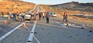 Adıyaman'da tırla otomobil çarpıştı: 4 ölü, 2 yaralı