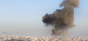 Esed rejimi hava saldırılarını sürdürüyor