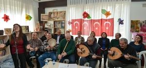Muratpaşa Belediyesi Soğuksu Yaşlı Evi'nde 'Sevgi Günü' eğlencesi