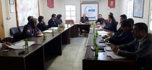 Geçici Koruma Hizmetleri Komisyonu toplantısı