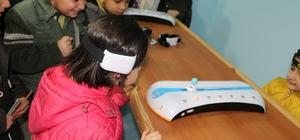 Özel Çamlıca İlkokulu öğrencilerinden Bilim Sanat Merkezine ziyaret
