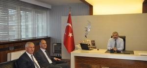 MEB İnşaat ve Emlak Dairesi Başkanı Özcan Duman Kayseri'de incelemelerde bulundu