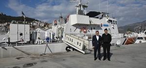 Başkan Yücel, Sahil Güvenlik Komutanı Karadeniz'i ziyaret etti