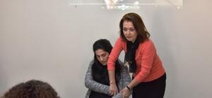 İlkyardım eğitimi kursiyerleri belgelerini Başkan Eşkinat'tan aldı