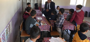 Nusaybin Milli Eğitim Müdürü Çetin Köy Okullarını ziyaret etti