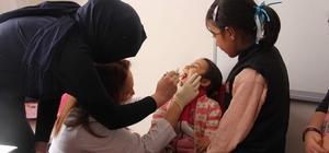 Engelli öğrencilere ağız ve diş sağlığı taraması yapıldı